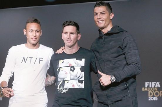 Cristiano Ronaldo pode apanhar Messi