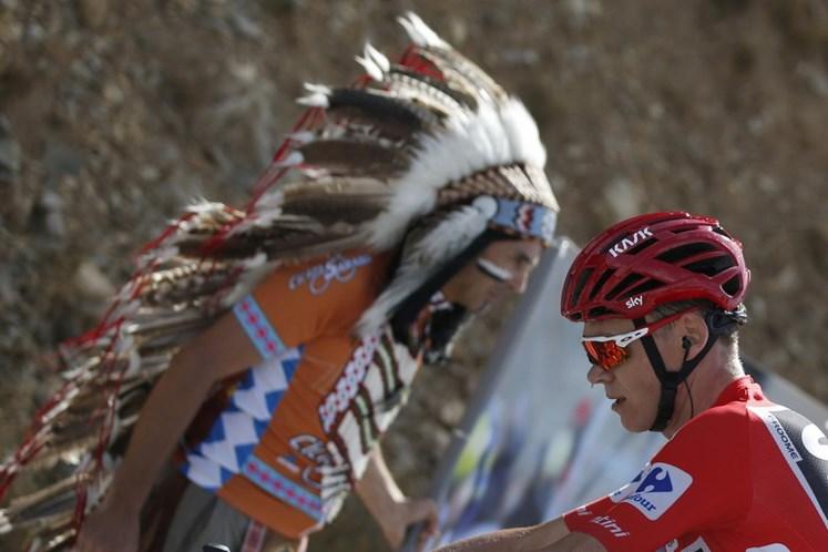 Contador e Nibali recuperam tempo a Froome