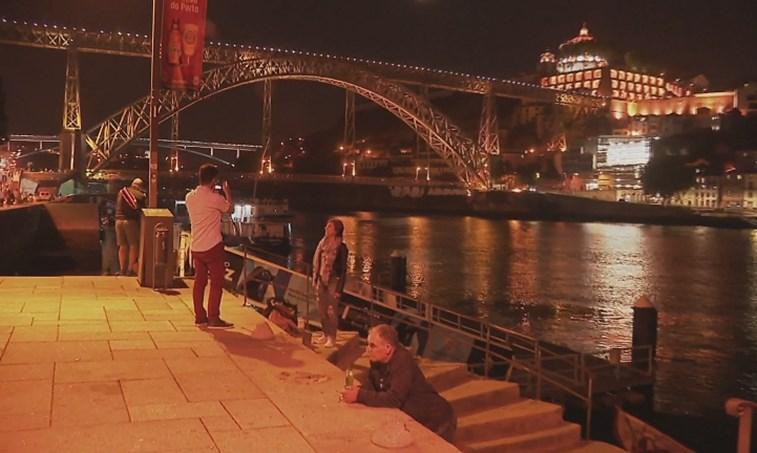 Polícia Marítima realiza buscas no Douro para encontrar turista