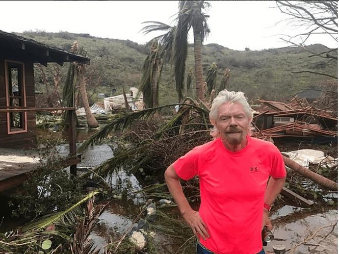 Bilionário mostra destruição causada por furacão em ilha particular no Caribe