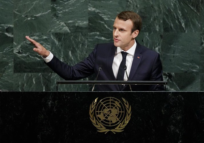 Acordo de Paris sobre o clima 'não será renegociado — Macron à ONU