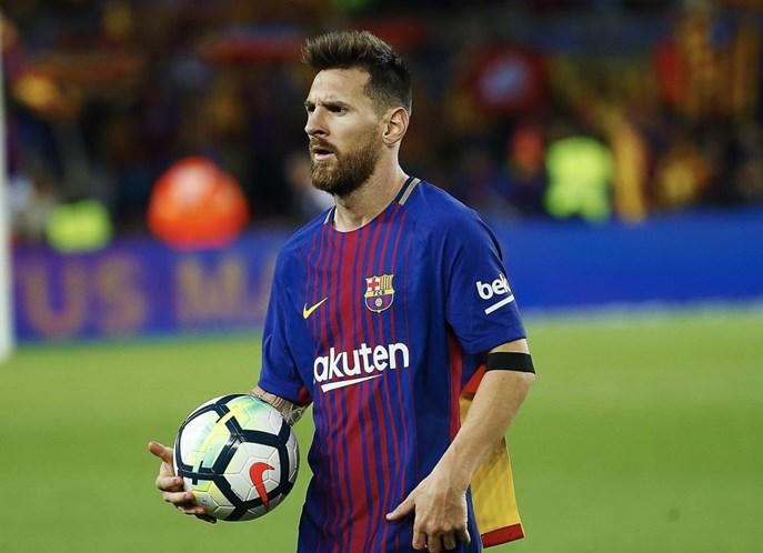 Filho de CR7 chama Messi de 'ídolo' em foto no Instagram
