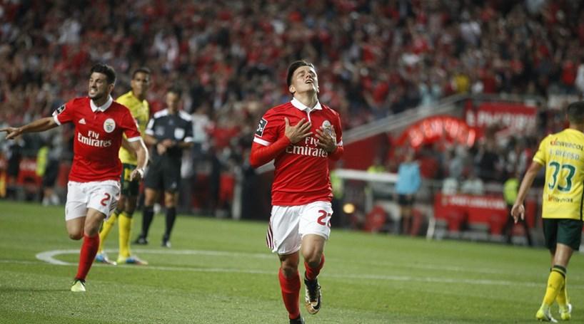 As melhores imagens do Benfica - Paços de Ferreira