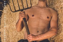 Calendário de agricultores sexy já está esgotado