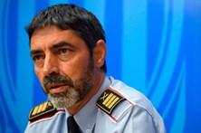 Diretor da polícia catalã libertado após novo interrogatório, mas fica sem passaporte