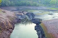 Fogos e seca provocam cenário de destruição em Vale de Cambra