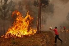 Fogo na Sertã mantém duas frentes ativas