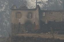 Fogo em Vouzela provoca vítimas mortais e perda de bens materiais