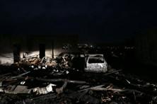 A destruição, o negro e as cinzas no Norte e o Centro de Portugal