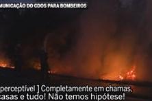 Comunicações entre CDOS de Viseu e bombeiros revela pânico e falta de meios