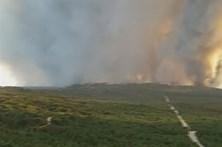 Vídeo amador mostra incêndios que arrasaram o Pinhal de Leiria
