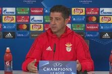 Saiba quais os onze eleitos do Benfica para o duelo com o Manchester United