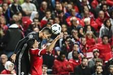 As melhores imagens do Benfica - Manchester United