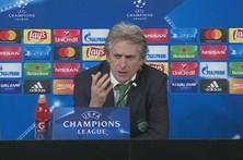 Jorge Jesus elogia prestação do Sporting frente à Juventus