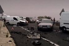 Português morre num acidente que envolveu 45 carros em Cáceres