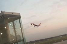 Pilotos suspensos por manobra que lançou o pânico