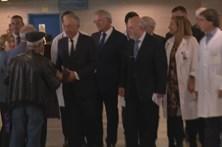 Presidente da República visita vítimas hospitalizadas