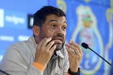 """""""Já mandei cortar a barba ao José Sá"""", diz Sérgio Conceição"""