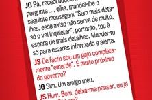 Conversa entre José Sócrates e João Galamba