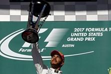 Lewis Hamilton vence em Austin e fica a 9 pontos do quarto título na Fórmula 1