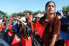 Atos violentos encerram embaixada portuguesa em Timor