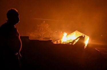 Mais de uma centena de famílias desalojadas em Oliveira do Hospital