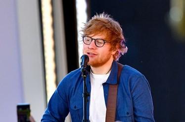 Ed Sheeran foi atropelado enquanto andava de bicicleta