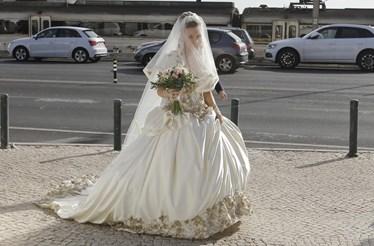 Luciana Abreu casou-se este sábado