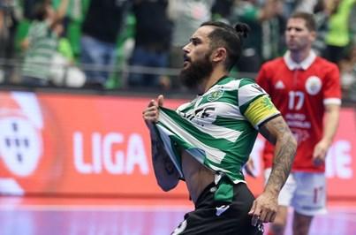Sporting sobe à liderança do campeonato de futsal ao vencer Benfica