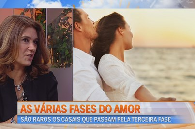 As fases do Amor