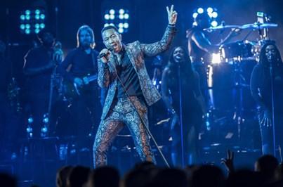 Lisboa ficou rendida ao talento de John Legend