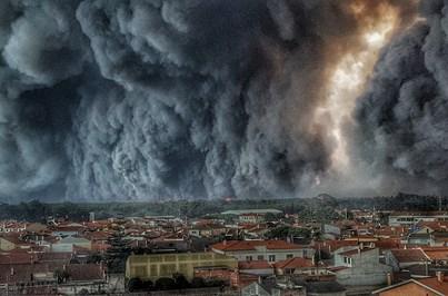 União de Leiria pede bens essenciais para ajudar bombeiros