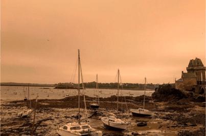 Fumo dos fogos de Portugal e Espanha chega ao norte da Europa
