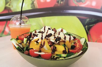 Papaya aposta em comidas saudáveis