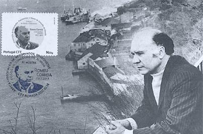 Evento filatélico homenageia o escritor Romeu Correia