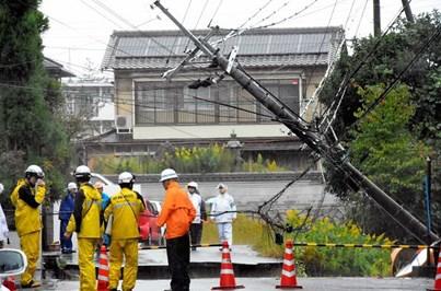 Tufão Lan cancela voos e fecha autoestradas no Japão