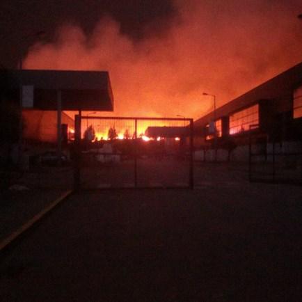 Incêndio deflagra na freguesia de Oleiros
