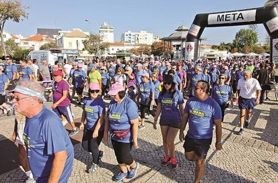 Mais de cinco mil correm contra o cancro da mama