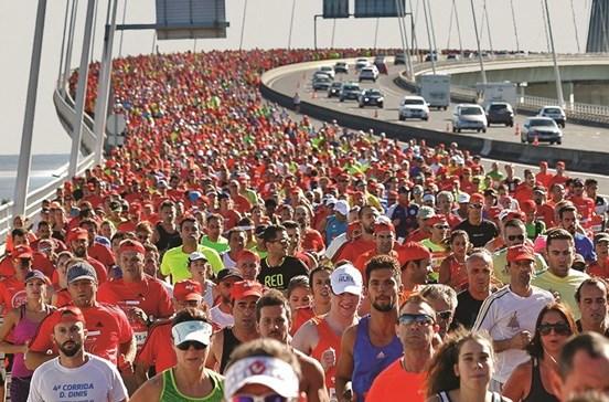 27 mil atletas correm nas ruas de Lisboa