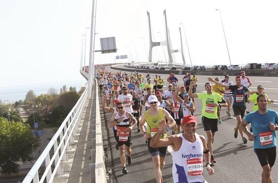 Maratona: 26 mil na festa da Vasco da Gama