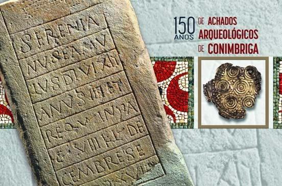 Postal assinala 150 de achados arqueológicos de Conímbriga