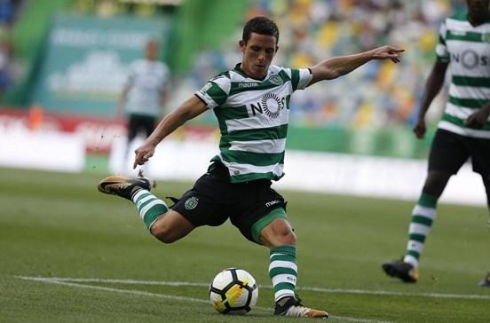 Podence é novidade no onze do Sporting para receção ao Chaves