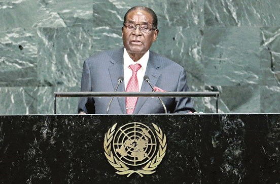 Organização Mundial de Saúde retira cargo a Robert Mugabe