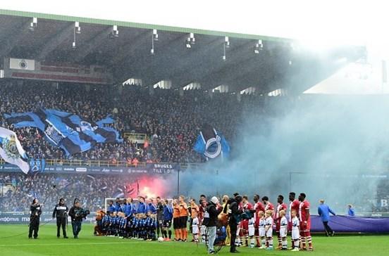 Polícia belga deteve 120 pessoas devido a desacatos após jogo de futebol