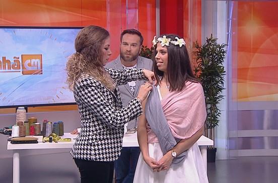 Aprenda a fazer um vestido de noiva