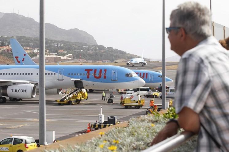 Vento cancela voos na Madeira