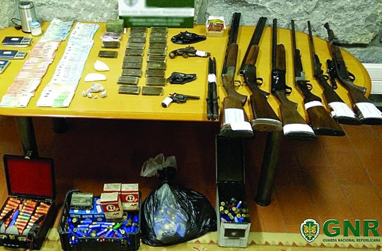 Operação da GNR que passou em Braga termina com sete detidos