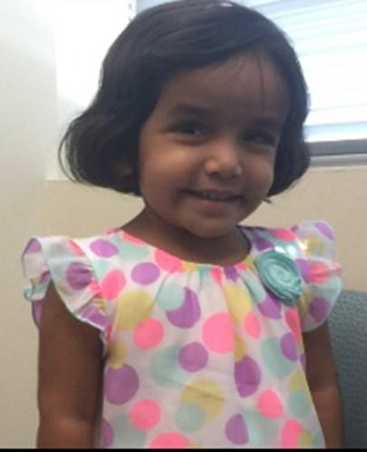Menina de 3 anos desaparece depois de ficar na rua como castigo