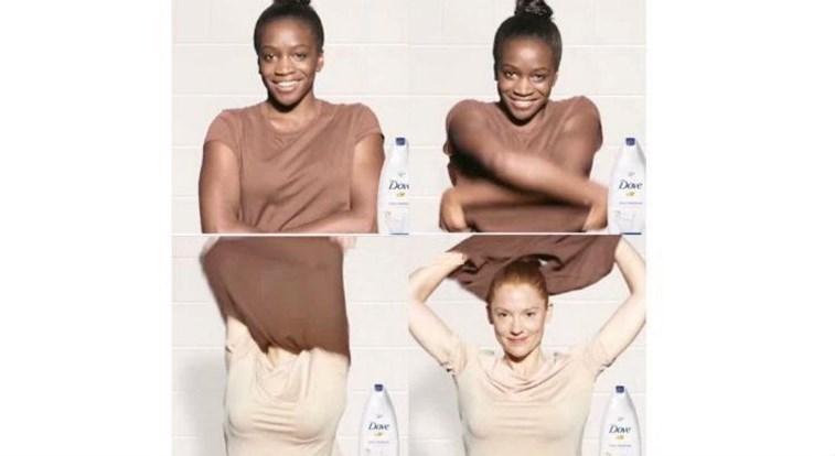 Modelo negra de propaganda considerada racista defende o anúncio