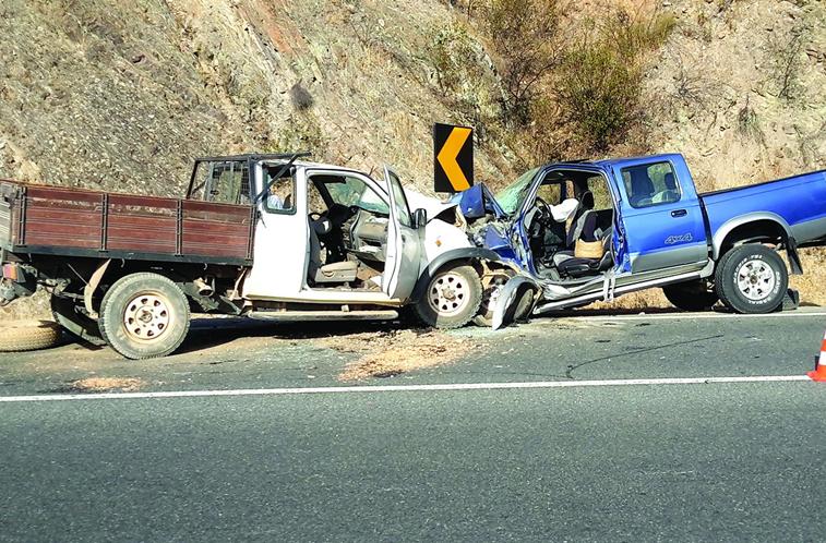 Colisão frontal faz dois mortos em Ourique